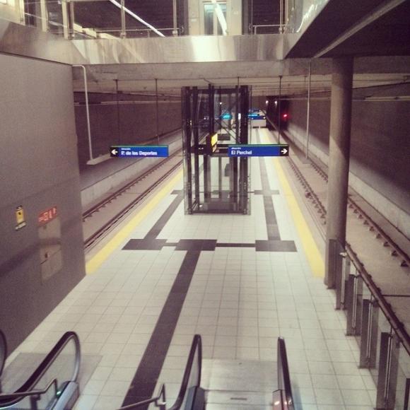El Metro de Málaga